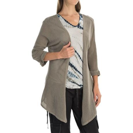 XCVI Hawthorn Cardigan Jacket - Open Front, 3/4 Sleeve (For Women)