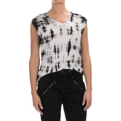 XCVI Valerie Tie-Dye Shirt - V-Neck, Short Sleeve (For Women)