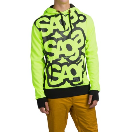 Saga Triple Stack Riding Hoodie (For Men)