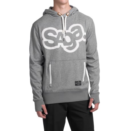 Saga OG Logo Riding Hoodie (For Men)