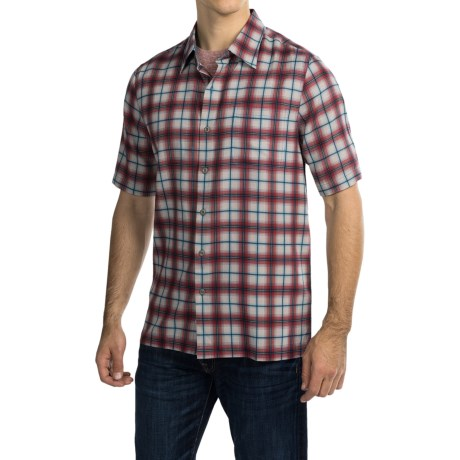 Nat Nast Austin Shirt - Silk-Cotton, Short Sleeve (For Men)