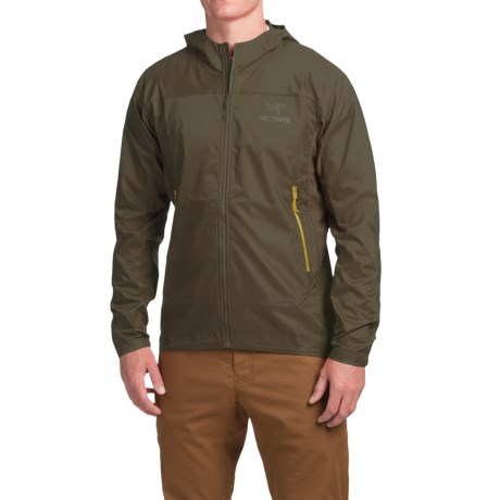 Arc'teryx Tenquille Soft Shell Hooded Jacket (For Men)
