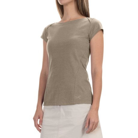 Arc'teryx Arc'teryx Cassia Shirt - Boat Neck, Short Sleeve (For Women)