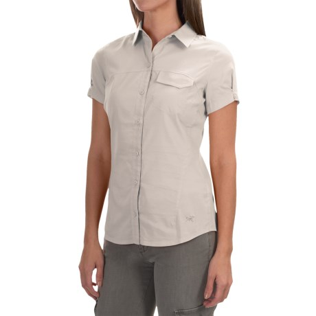 Arc'teryx Arc'teryx A2B Button-Front Shirt - UPF 25+, Short Sleeve (For Women)
