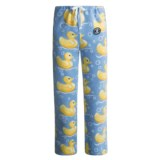 Grandma Pants Fleece Pajama Pants - Printed (For Women)