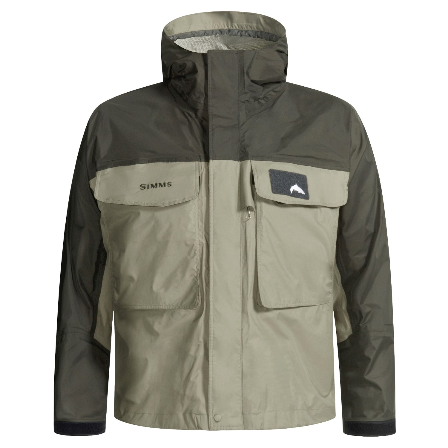 Simms freestone fly fishing shell jacket for men 1632y for Fly fishing gear closeouts