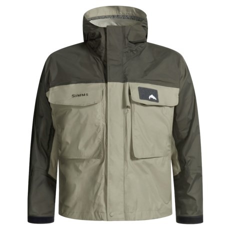 A great lightweight fishing jacket review of simms for Waterproof fishing jacket