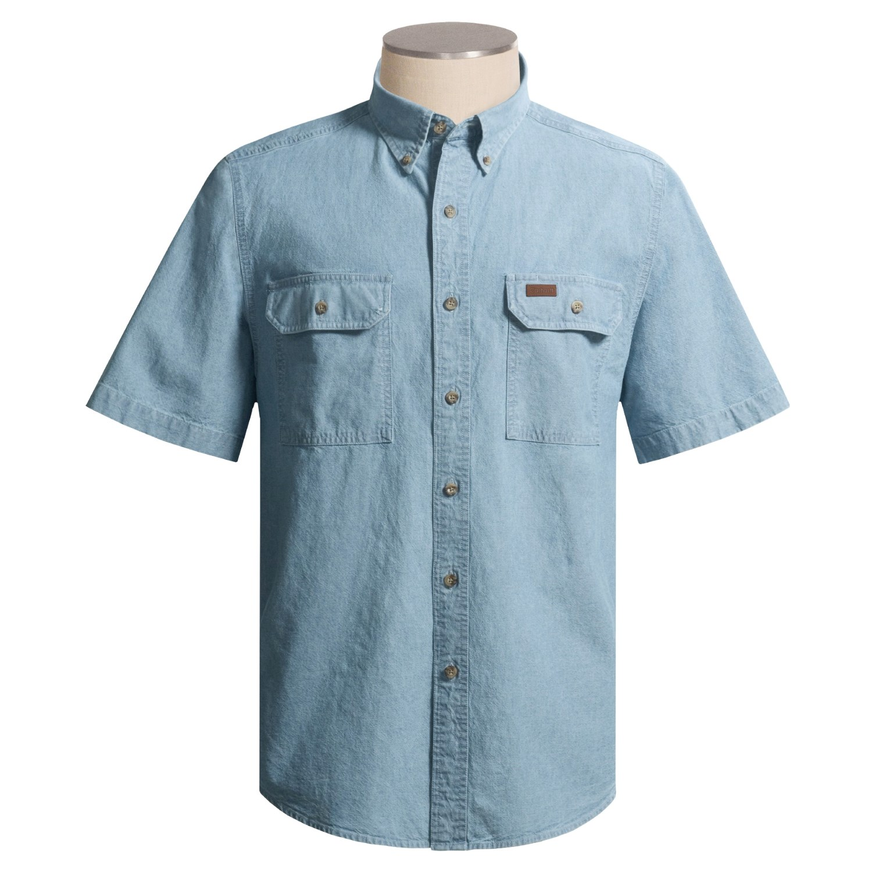 Carhartt Chambray Shirt For Men 1634f
