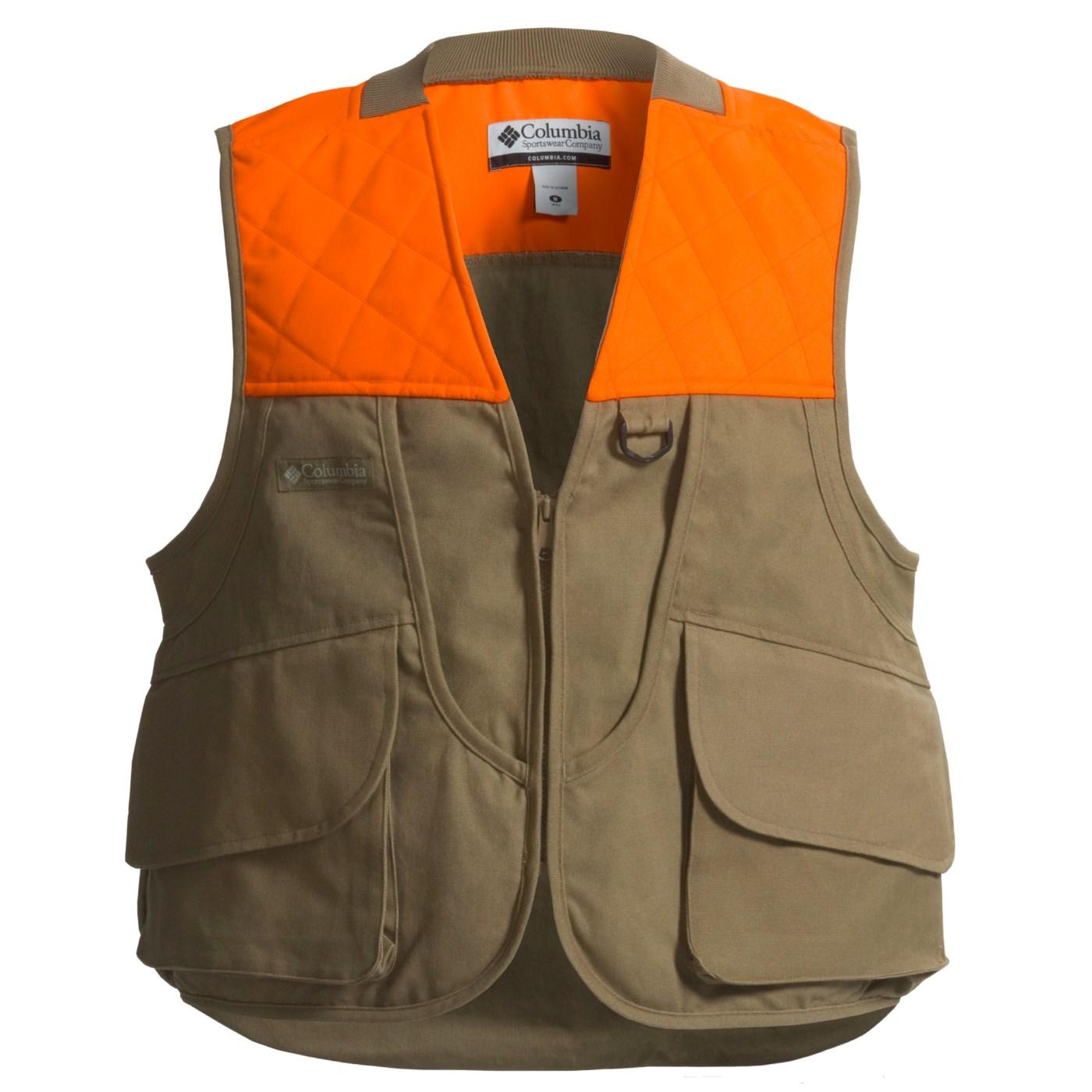 c590f0b2df483 Columbia Sportswear Cockbird Upland Hunting Vest (For Big Men) 1639U ...