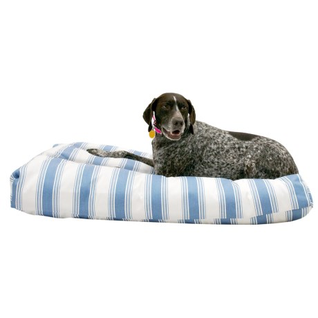 """Restless Tails Striped Indoor/Outdoor Dog Bed - 42x24"""""""
