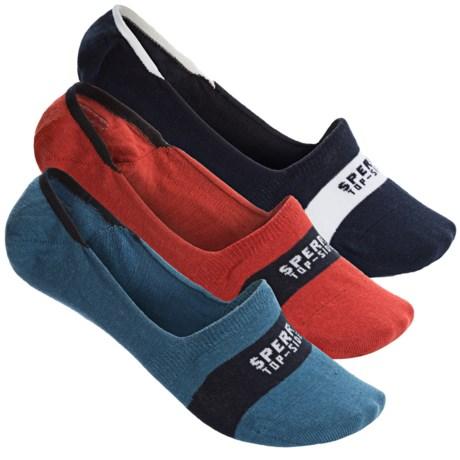 Sperry Liner Socks - 3-Pack, Below the Ankle (For Men)