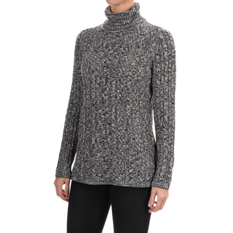 Eight Eight Eight Marled Turtleneck Sweater (For Women)