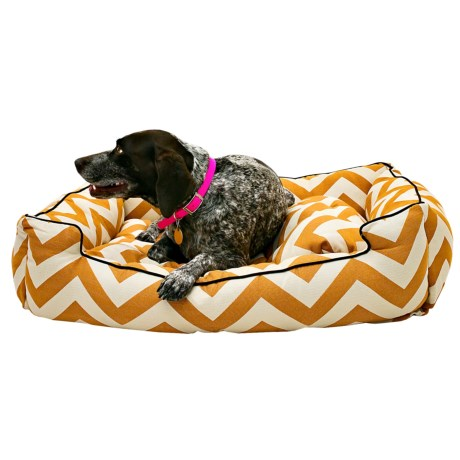 "Jax & Bones Spellbound Sleeper Dog Bed - Large, 39x32"""