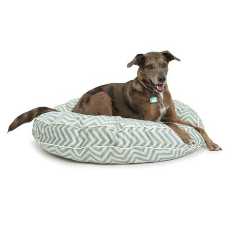 "Jax & Bones Slumber Jax Vibe Round Dog Bed - 40"""