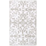 Vista Home Fashions Grand Hotel Collection Lys Bath Rug - 21x34""