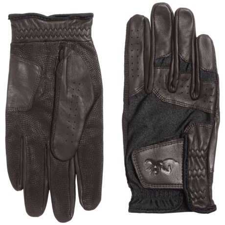 Browning Leather Dura-Lite Shooting Gloves (For Men)