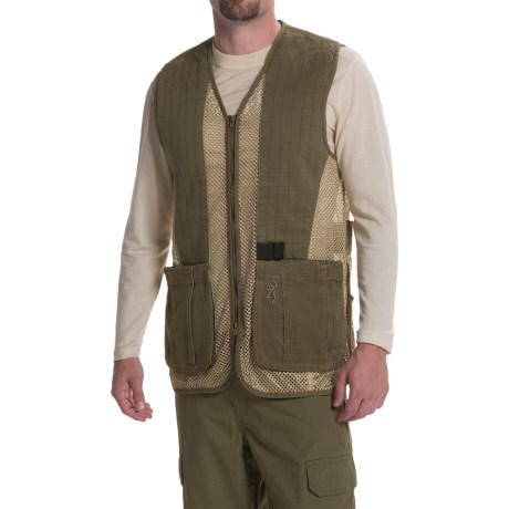 Browning Rhett Shooting Vest (For Big Men)