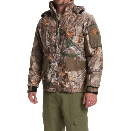 Browning Hell's Canyon 4-in-1 PrimaLoft® Parka - Waterproof, Insulated (For Big Men)