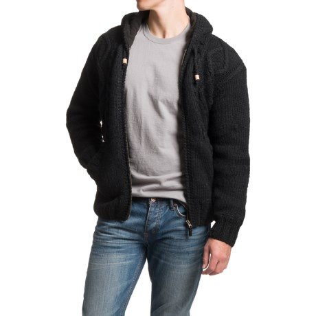 Laundromat Halifax Fleece-Lined Sweater - Hooded (For Men)