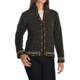 Laundromat Lausanne Fleece-Lined Sweater - Zip Front (For Women)