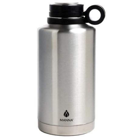 Core Bamboo Core Stainless Steel Growler Bottle - 64 fl.oz., BPA-Free