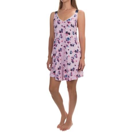 Lucky Brand Easy Breezy Maxi Slip - Cotton Blend, Sleeveless (For Women)