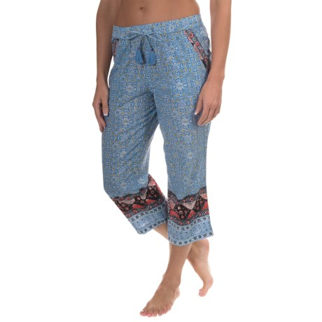 Lucky Brand Cotton Lawn Lounge Pants - Cotton (For Women)