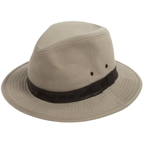 Dorfman Pacific Twill Safari Hat - UPF 50+ (For Men)