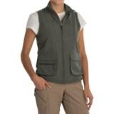 White Sierra Traveler Vest (For Women)