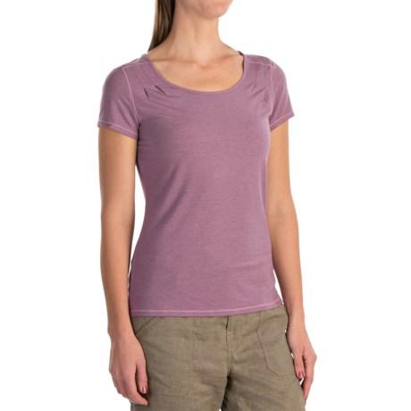White Sierra Kalahari Shirt - Modal, Short Sleeve (For Women)