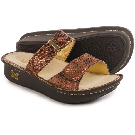 Alegria Karmen Sandals - Metallic Leather (For Women)