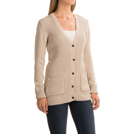 Gramicci Snuggled Up Cardigan Sweater - Organic Cotton (For Women)
