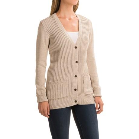 Gramicci Snuggled Up Cardigan Sweater - Organic Cotton (For Women)