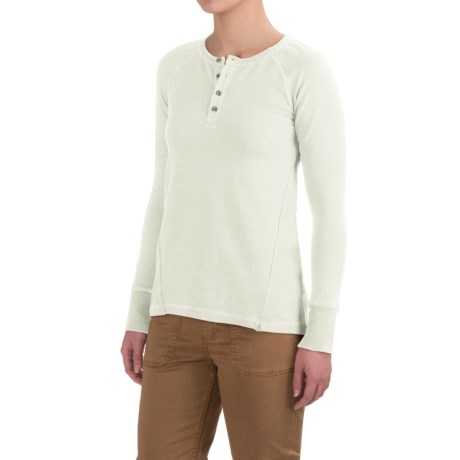 Gramicci Dawn Henley Shirt - Organic Cotton, Long Sleeve (For Women)