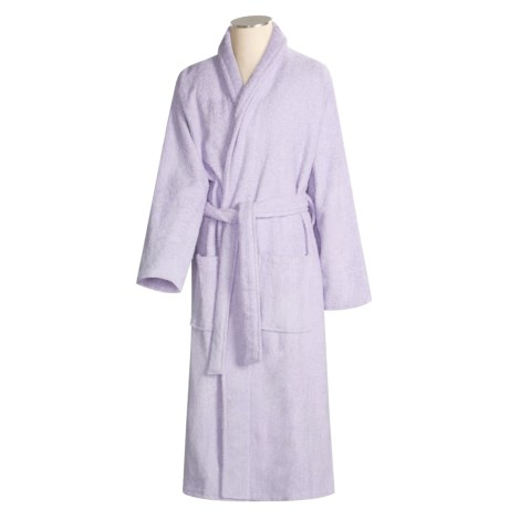 finally a floor length robe - review of turkish 14 oz. cotton