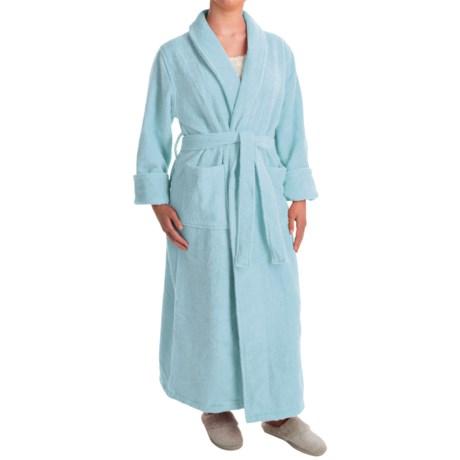 Turkish 14 oz. Cotton Terry Robe (For Women)
