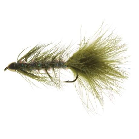 Black's Flies Streamer Cone Head Krystle Bug Fly - Dozen