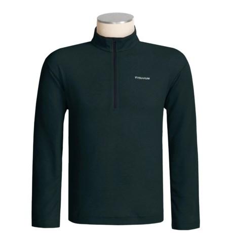 Columbia Sportswear Mountain Tech Base Layer Shirt - Titanium, Omni-Dry®, Long Sleeve (For Men)