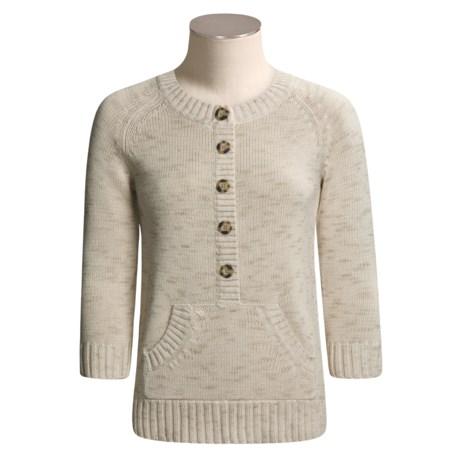 Columbia Sportswear Roo Henley Sweater - ¾ Sleeve (For Women)