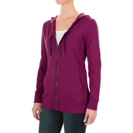 FDJ French Dressing French Terry Hoodie - Full Zip (For Women)