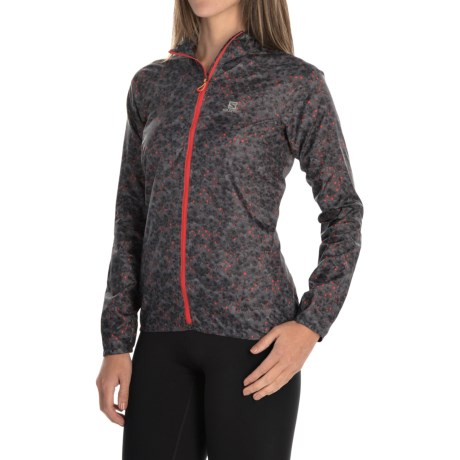 Salomon Fast Wing Graphic Hoodie - UPF 50 (For Women)