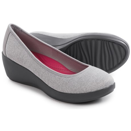 Crocs Duet Busy Day Shoes - Wedge Heel (For Women)