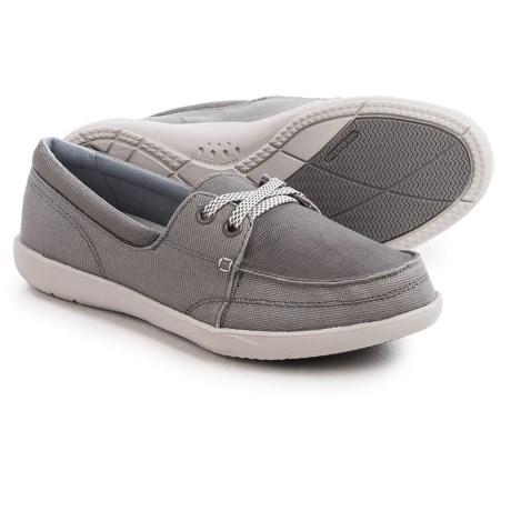 Crocs Walu II Canvas Skimmer Shoes - Lace-Ups (For Women)