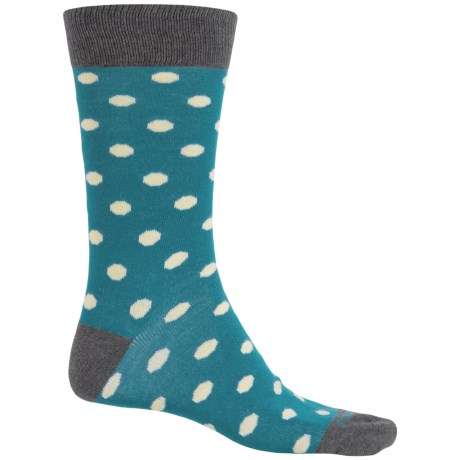Etiquette Polka-Dot Socks - Crew (For Men)