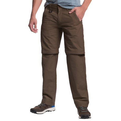 Convertible Pants - Zip-Off Legs, Cotton-Nylon (For Men)
