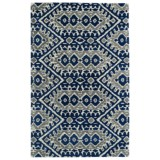 "Kaleen Global Inspirations Area Rug - 5'x7'9"", Hand-Tufted Wool"