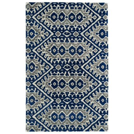 Kaleen Global Inspirations Accent Rug - 2x3', Hand-Tufted Wool