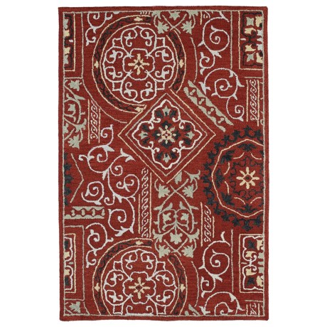 Kaleen Brooklyn Collection Area Rug - 8x11', Hand-Tufted Wool
