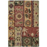 Kaleen Brooklyn Collection Accent Rug - 2x3', Hand-Tufted Wool