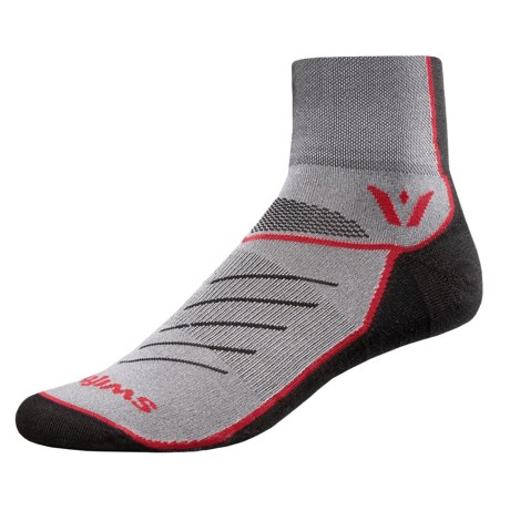 Swiftwick Vibe Two Cycling Socks - Ankle (For Men and Women)